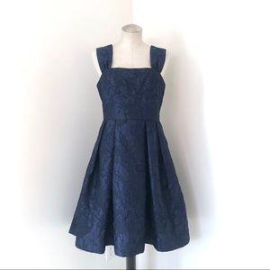 Gal Meets Glam Annabelle Square Neck Dress Size 8